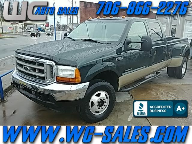 2001 Ford F-350 SD Lariat Crew Cab Short Bed 4WD DRW
