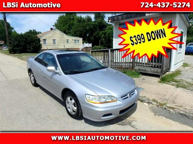 2001 Honda Accord EX Coupe with Leather