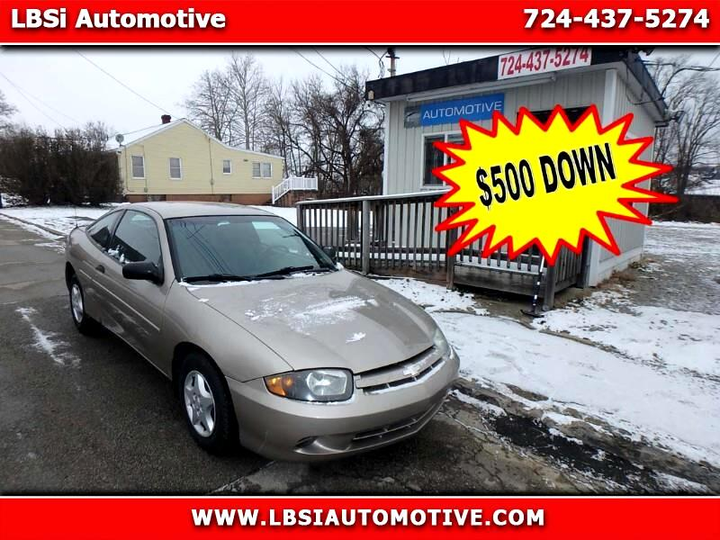 2003 Chevrolet Cavalier Coupe