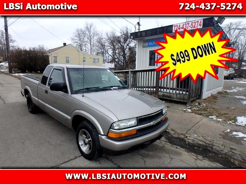 2002 Chevrolet S10 Pickup Ext. Cab 2WD