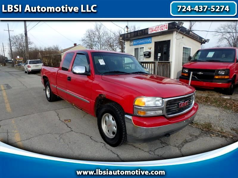 GMC Sierra 1500 SL Ext. Cab Short Bed 2WD 2001