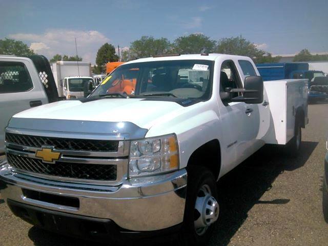 2013 Chevrolet Silverado 3500HD Work Truck Crew Cab Long Box 4WD