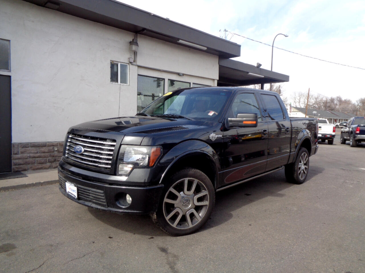"2010 Ford F-150 AWD SuperCrew 145"" Harley-Davidson"