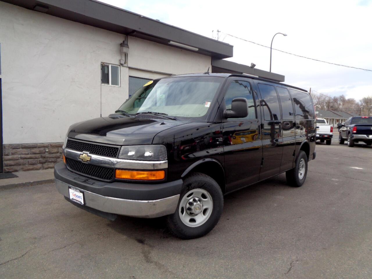 "2013 Chevrolet Express RWD 2500 135"""