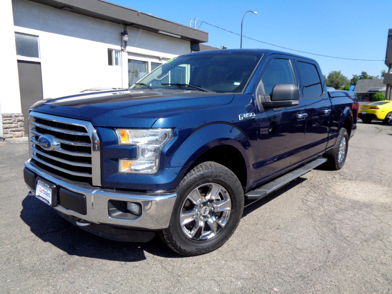 "2015 Ford F-150 4WD SuperCrew 157"" XLT FX4 Off Road"