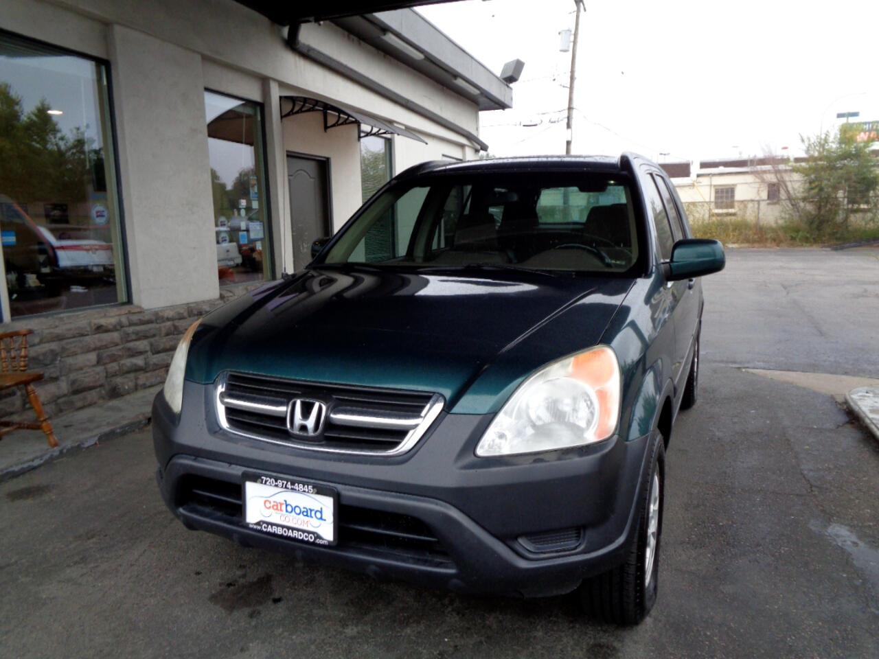 2004 Honda CR-V 4WD EX Auto