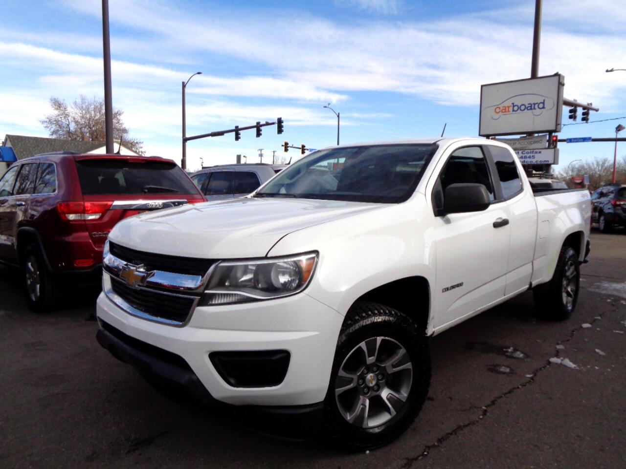 """Chevrolet Colorado 4WD Ext Cab 128.3"""" WT 2015"""