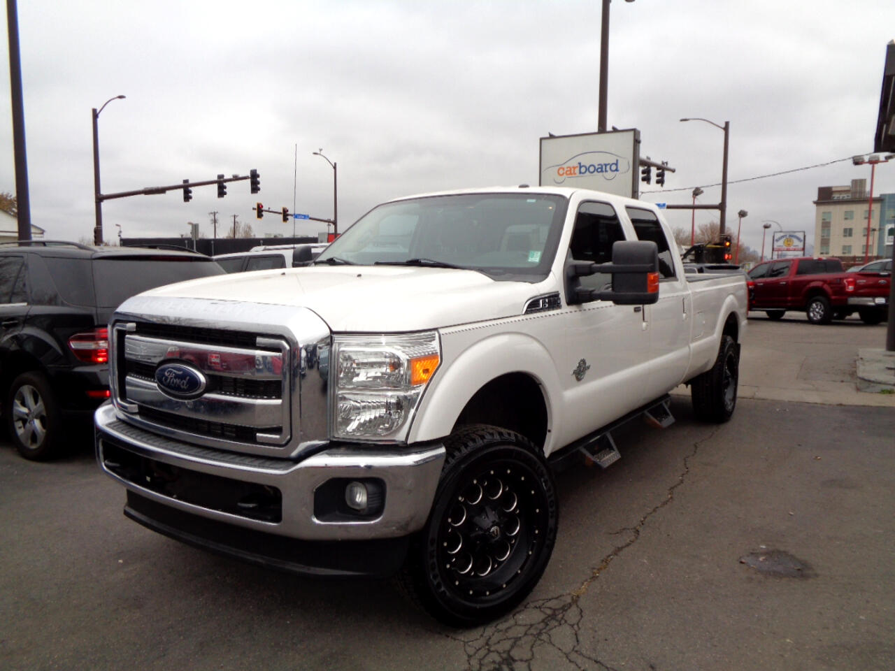 "2012 Ford Super Duty F-350 SRW 4WD Crew Cab 156"" XL"