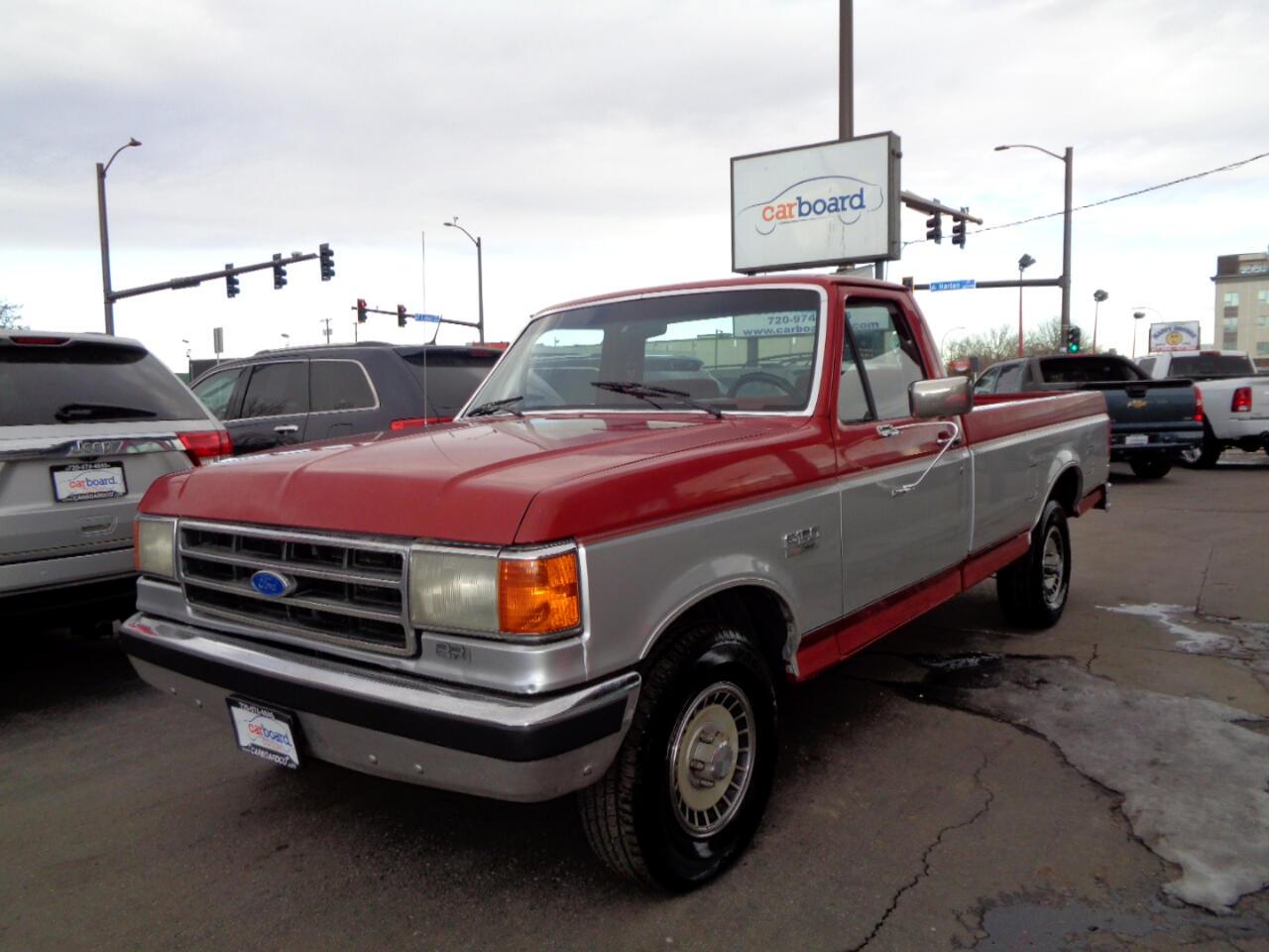 Ford 1/2 Ton Trucks  1989