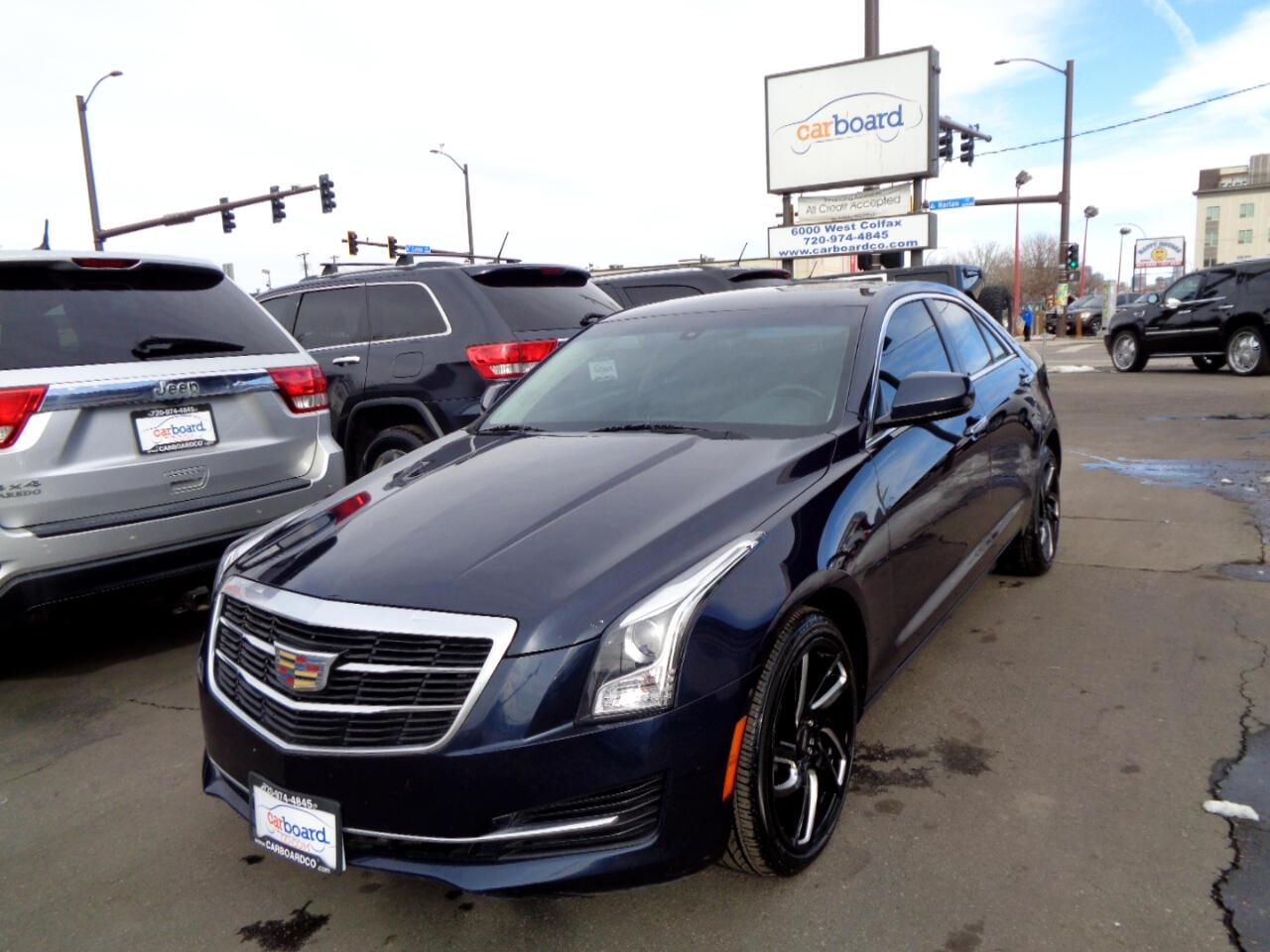 Cadillac ATS Sedan 4dr Sdn 2.0L Standard AWD 2015