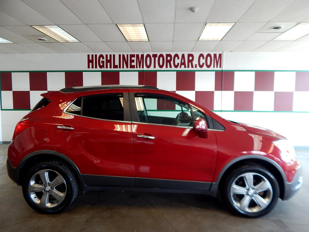 2013 Buick Encore AWD 4dr Leather