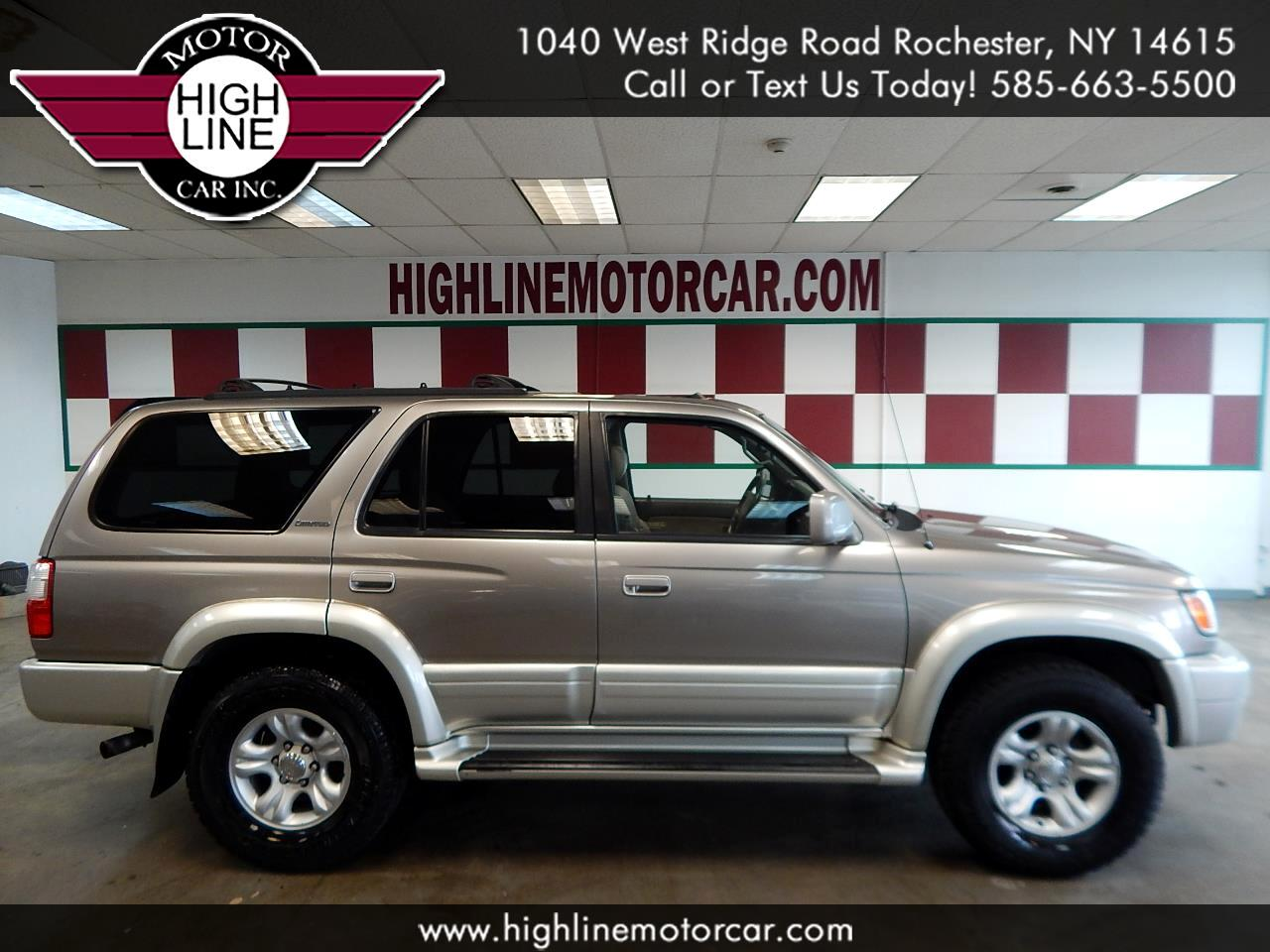 2001 Toyota 4Runner 4dr Limited 3.4L Auto (Natl)