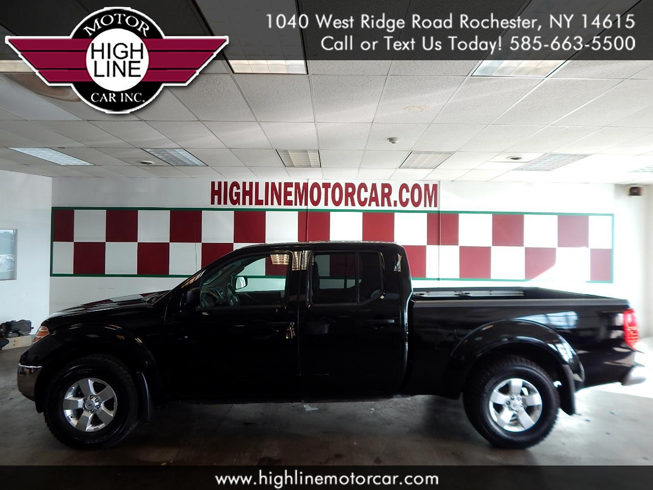 2012 Nissan Frontier 4WD Crew Cab LWB Auto SV