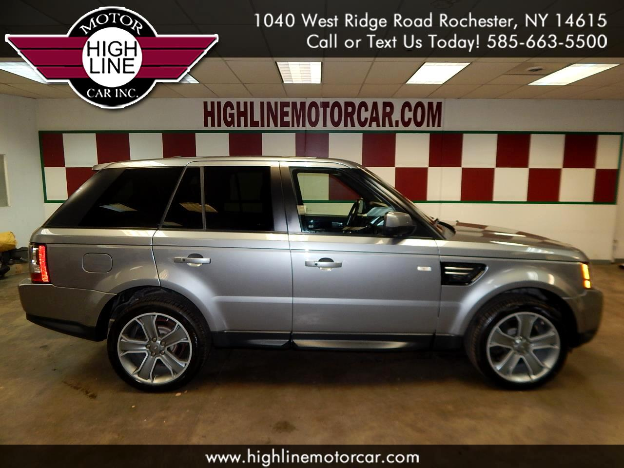 2013 Land Rover Range Rover Sport 4WD 4dr HSE