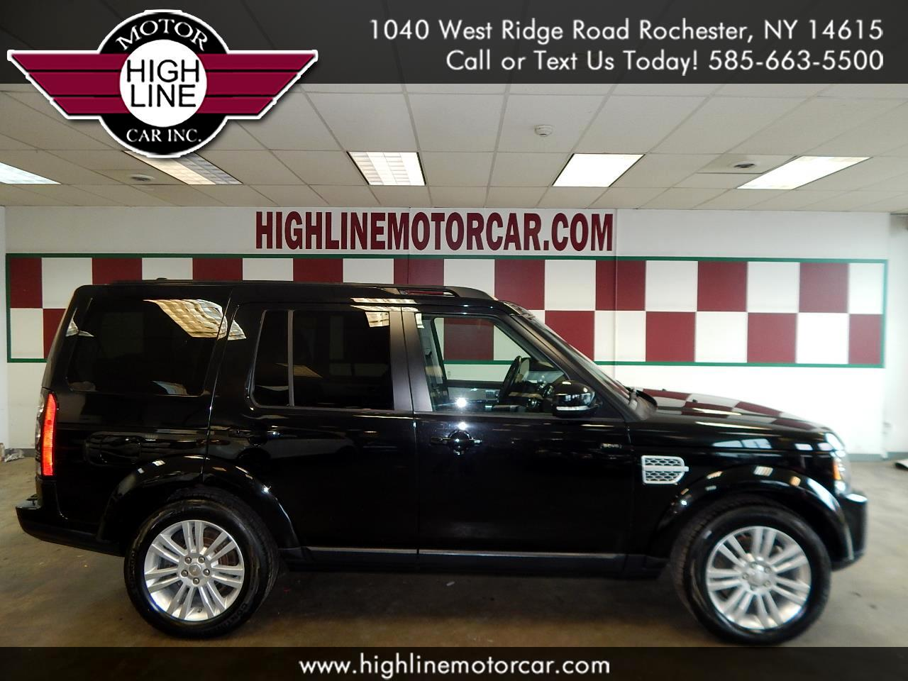 2014 Land Rover LR4 4WD 4dr LUX
