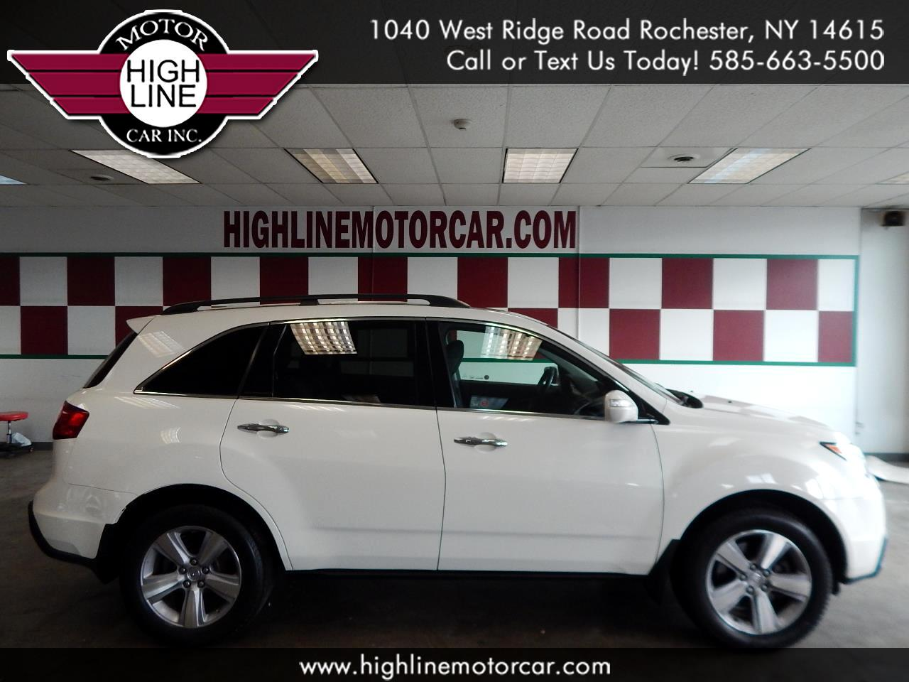 2011 Acura MDX 4dr SUV AT Touring RES w/Navi
