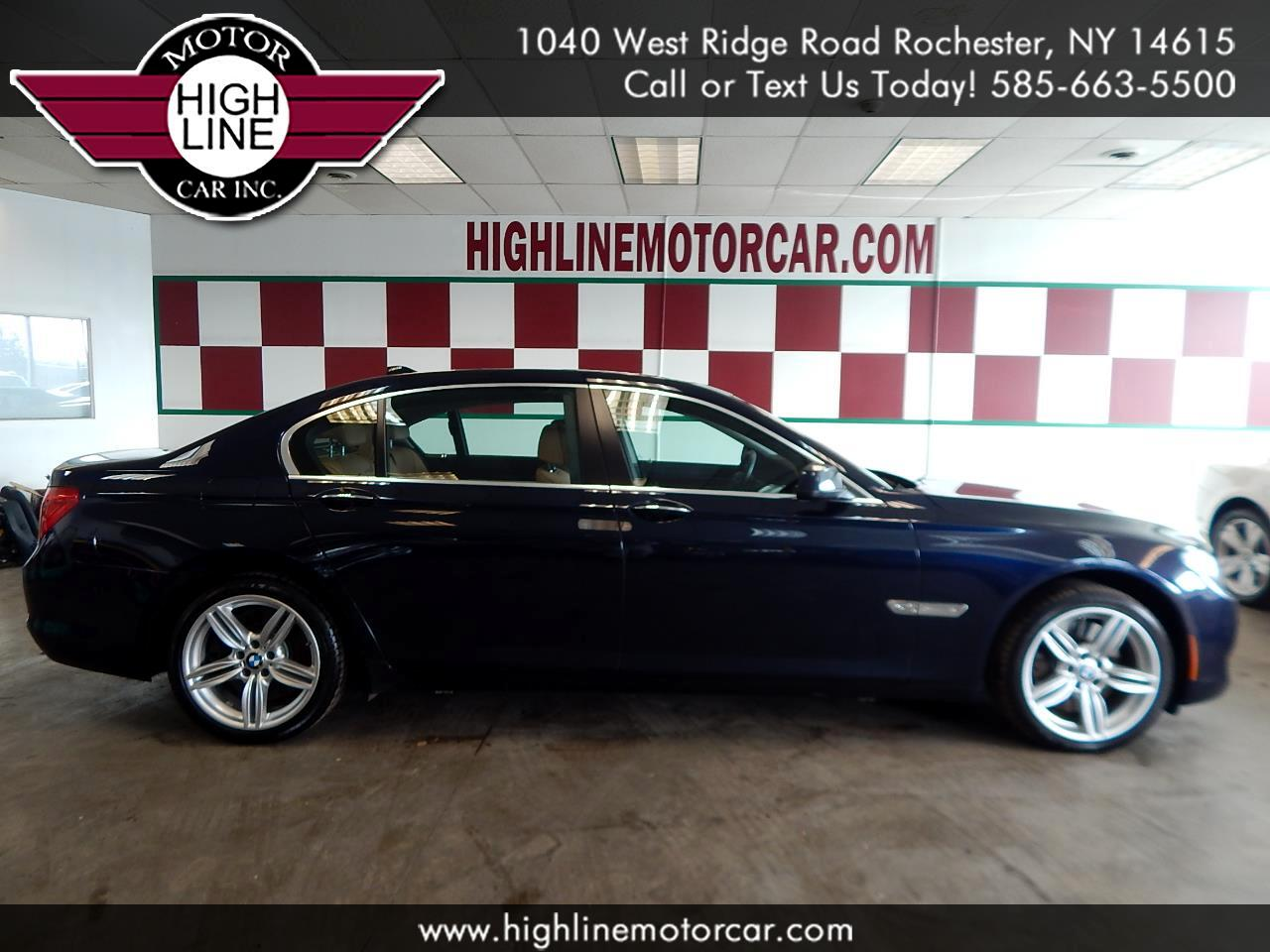 2011 BMW 7 Series 4dr Sdn 750Li xDrive AWD