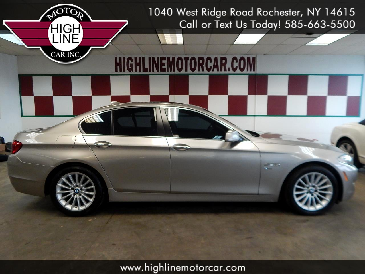 2011 BMW 5 Series 4dr Sdn 535i xDrive AWD