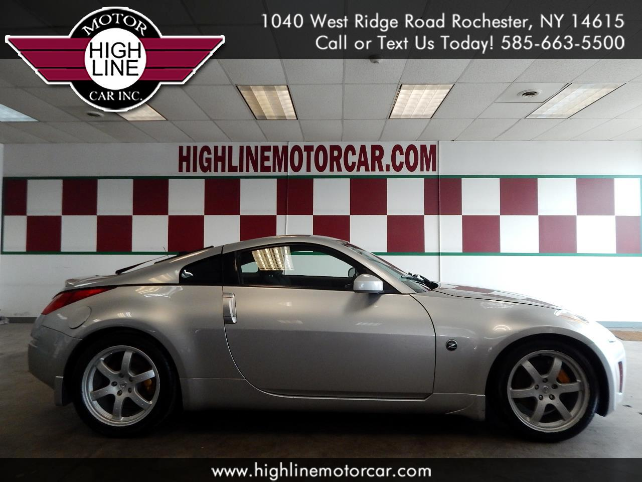 2003 Nissan 350Z 2dr Cpe Track Manual Trans