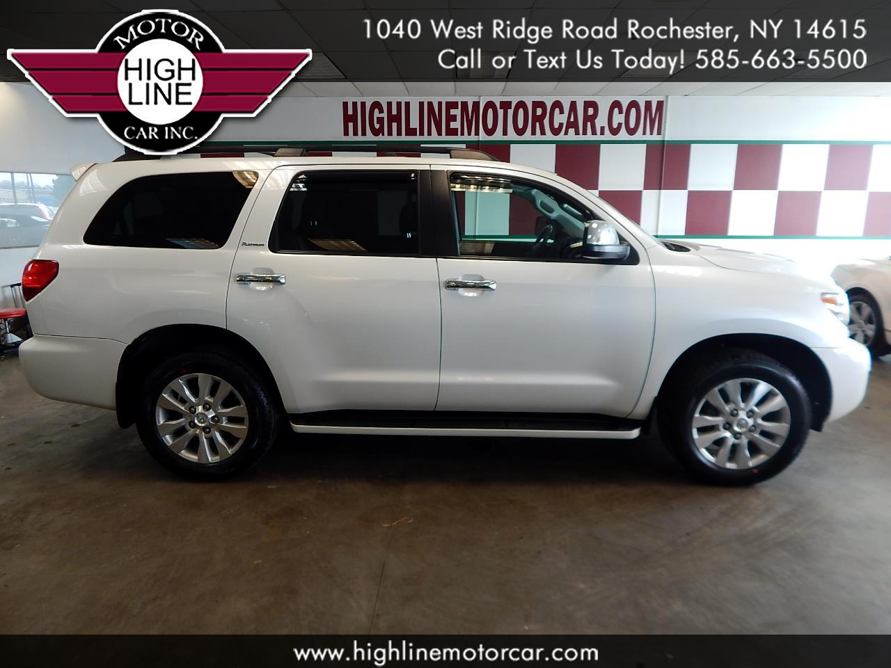 2013 Toyota Sequoia 4WD 5.7L Platinum (Natl)
