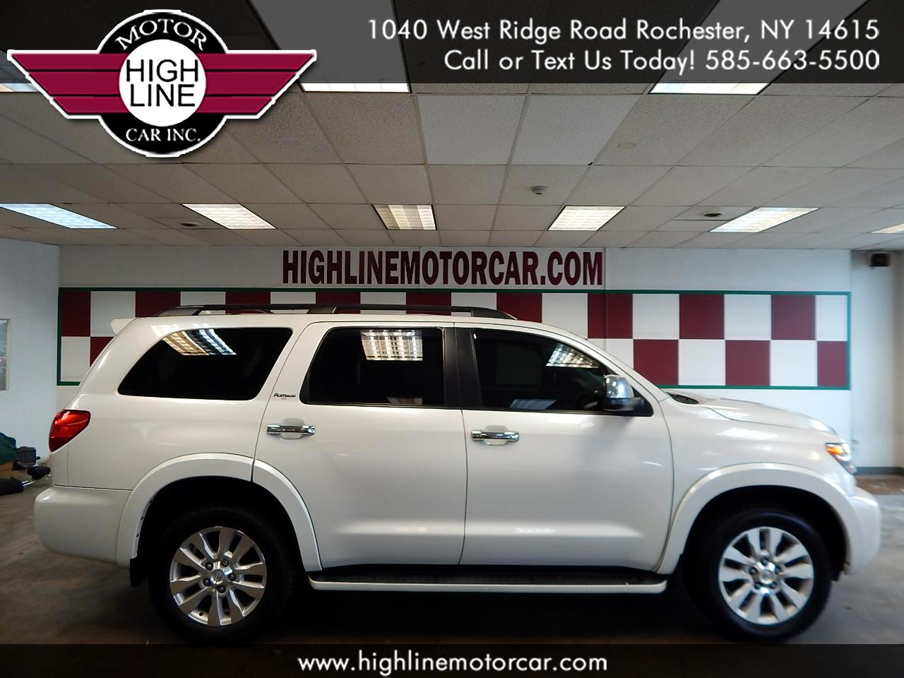 2011 Toyota Sequoia 4WD LV8 6-Spd AT Platinum (Natl)