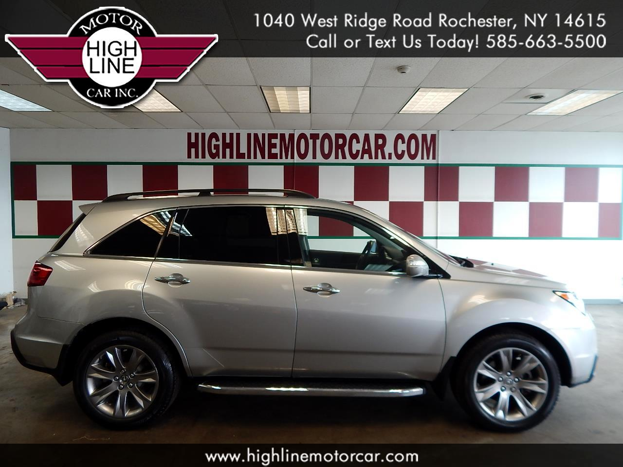 2011 Acura MDX AWD 4dr Advance/Entertainment Pkg