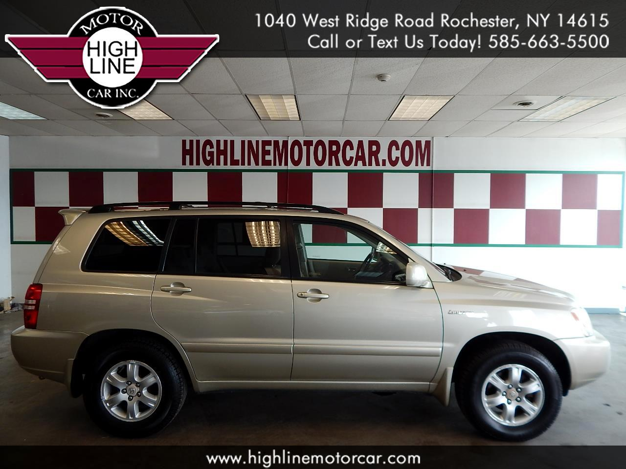 2003 Toyota Highlander 4dr V6 4WD Limited (Natl)
