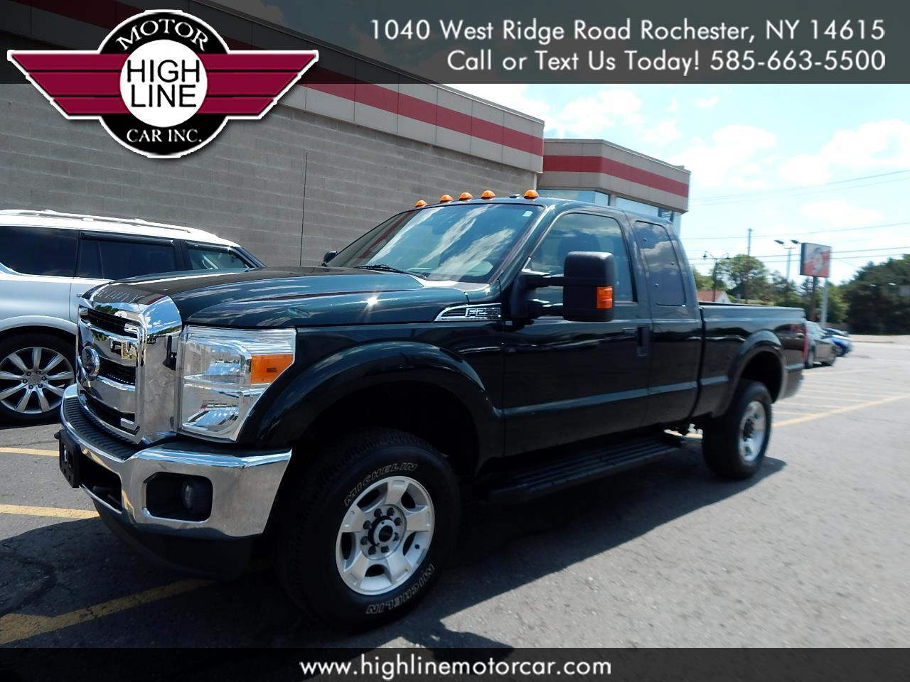 "2015 Ford Super Duty F-250 SRW 4WD SuperCab 142"" XLT"