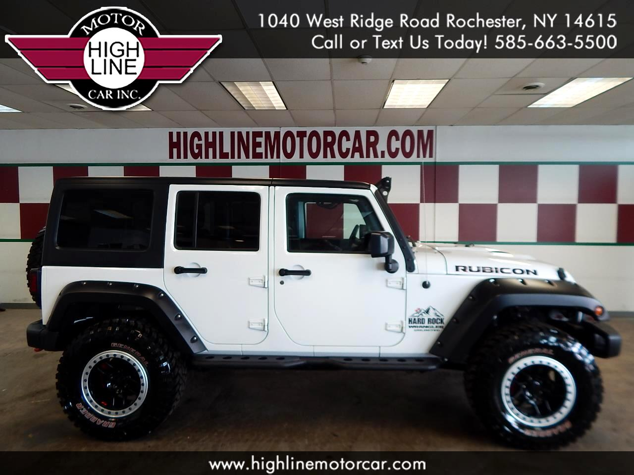 Jeep Wrangler Unlimited Rubicon Hard Rock 4x4 *Ltd Avail* 2017