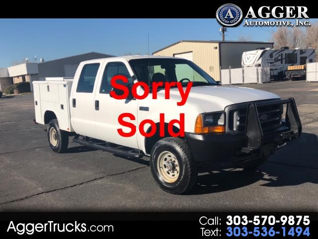 2000 Ford F-350 SD Lariat Crew Cab Long Bed 4WD