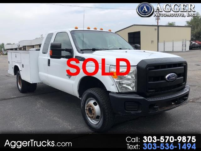 2011 Ford F-350 SD Lariat SuperCab Long Bed DRW 4WD Utility