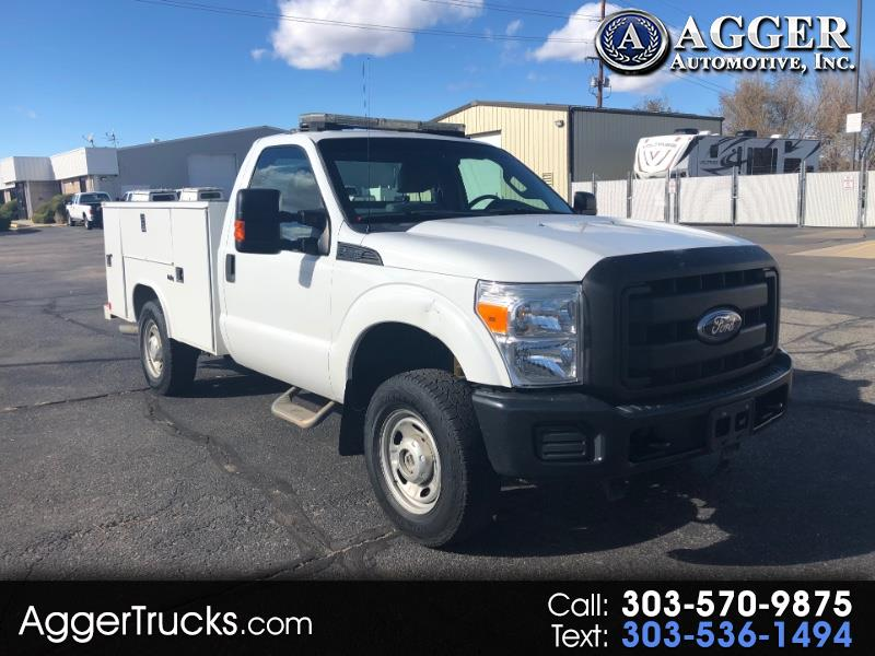 2011 Ford F-250 SD XLT 4WD SERVICE UTILITY