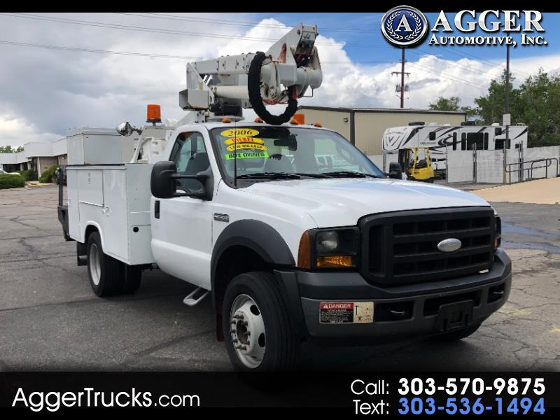 2006 Ford Super Duty F-450 DRW Reg Cab 141