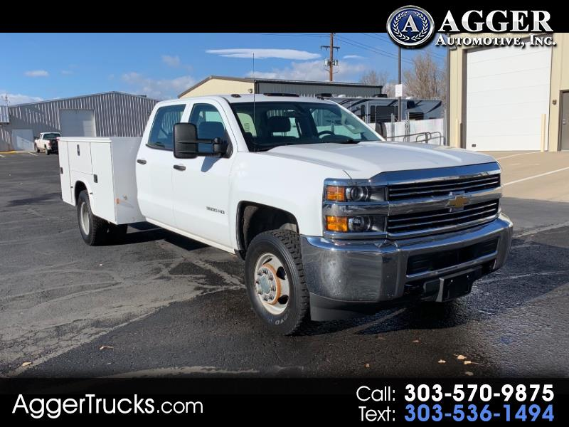 "Chevrolet Silverado 3500HD Built After Aug 14 4WD Crew Cab 171.5"" WB, 59.06"" CA WT 2015"