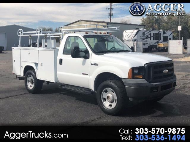 2006 Ford F-350 SD 8 Foot Service Utility 4x4 PowerStroke From PG&E i