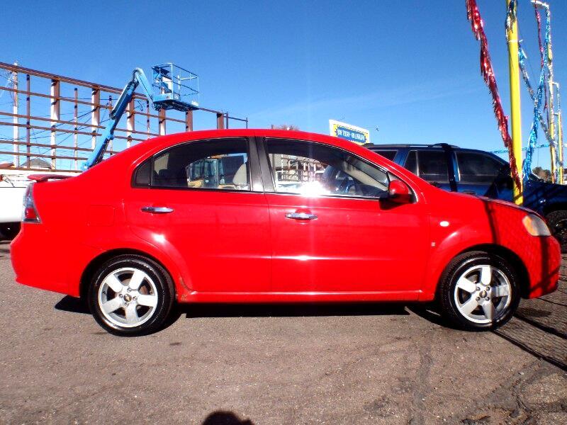 Chevrolet Aveo LT 4-Door 2008