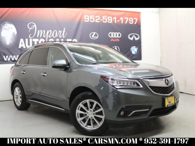 2014 Acura MDX SH-AWD 4dr w/Advance/Entertainment