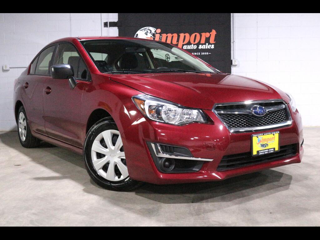 2016 Subaru Impreza 2.0i Premium PZEV CVT 4-Door