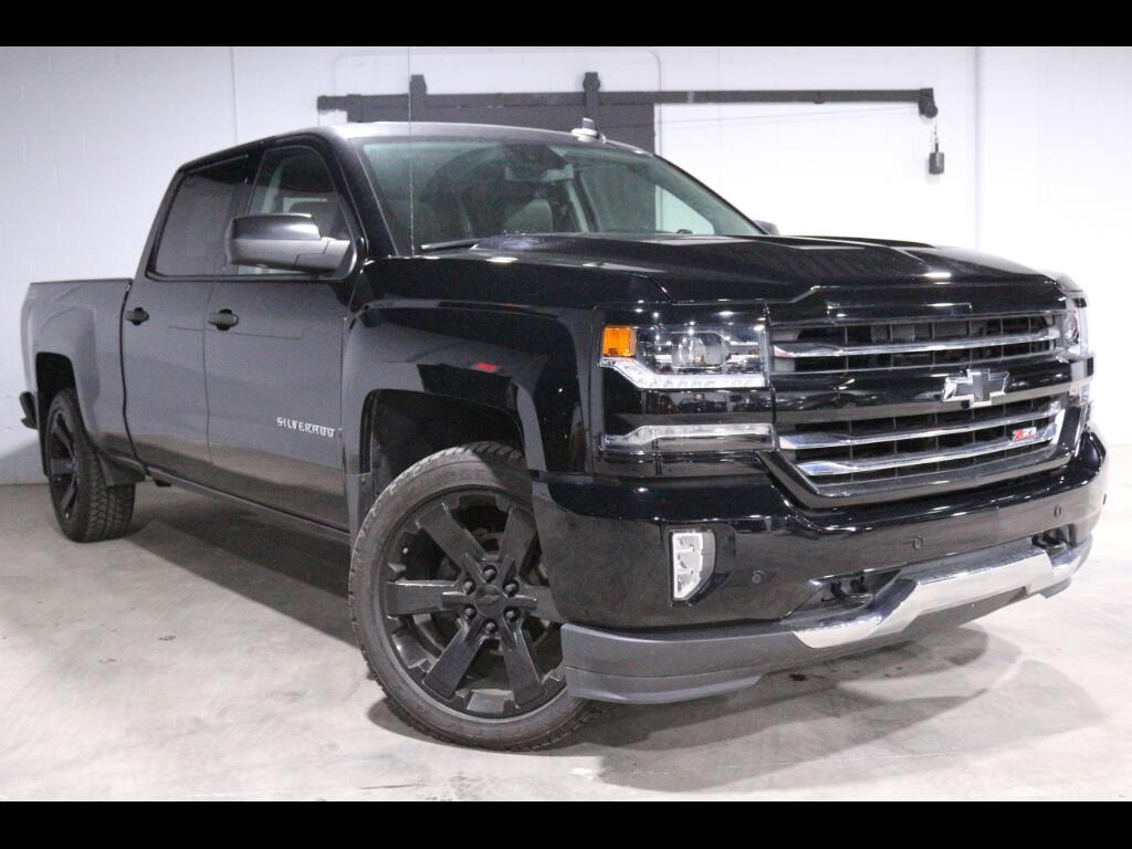 2017 Chevrolet Silverado 1500 2LZ Crew Cab Long Box 4WD