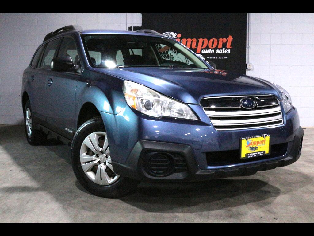 2013 Subaru Outback 4dr Wgn H4 Auto 2.5i