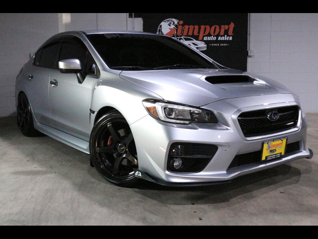 2016 Subaru WRX 4dr Sdn Man Limited