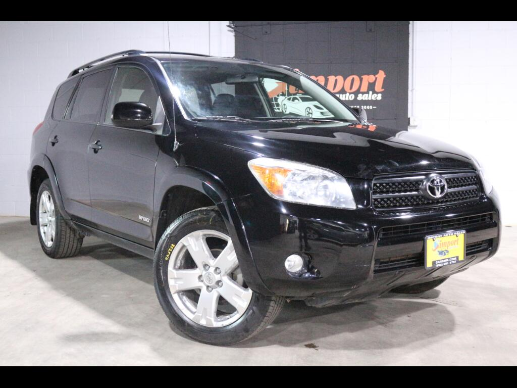 2008 Toyota RAV4 4WD 4dr 4-cyl 4-Spd AT Sport (Natl)