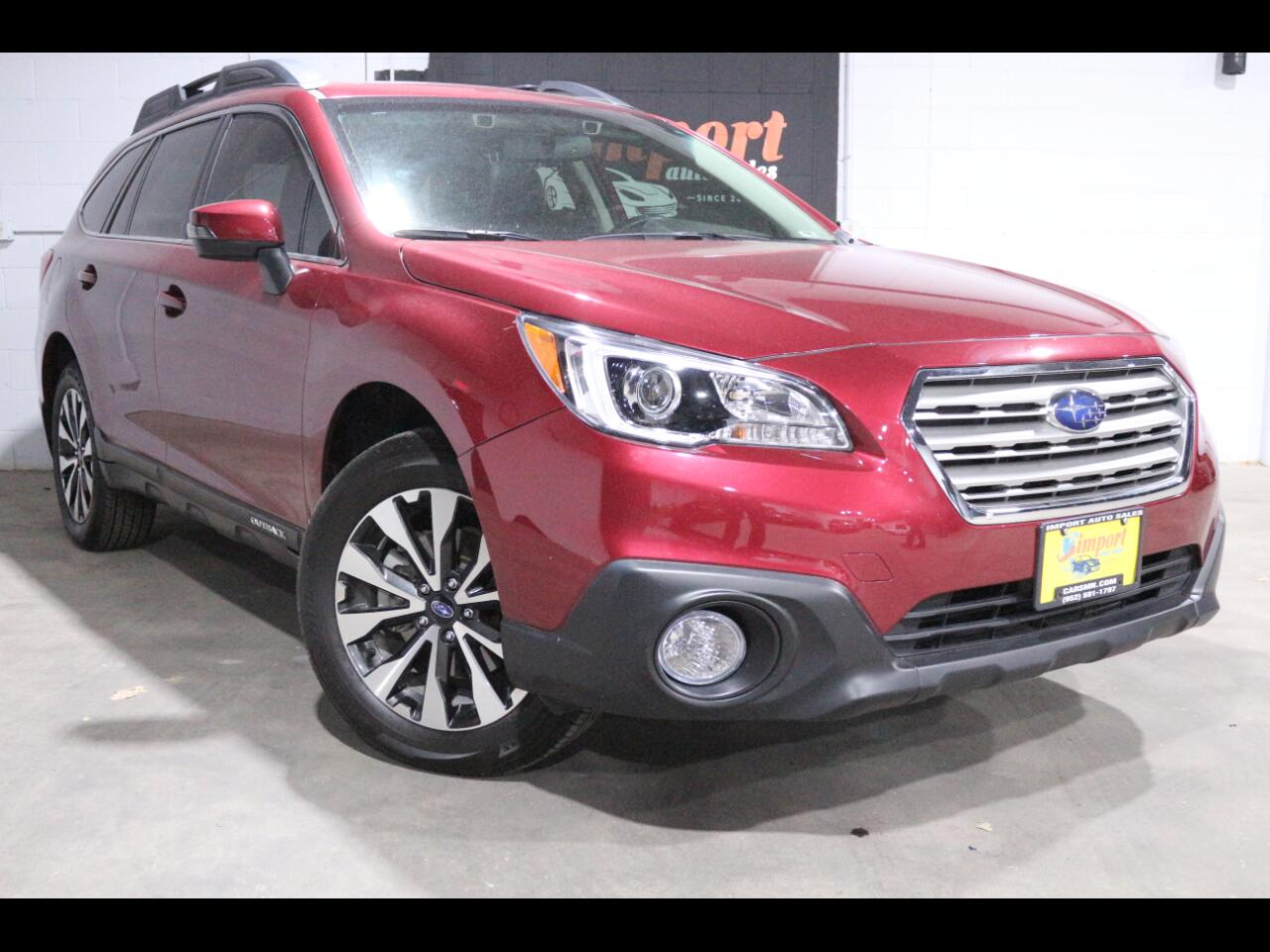 2016 Subaru Outback 4dr Wgn 3.6R Limited