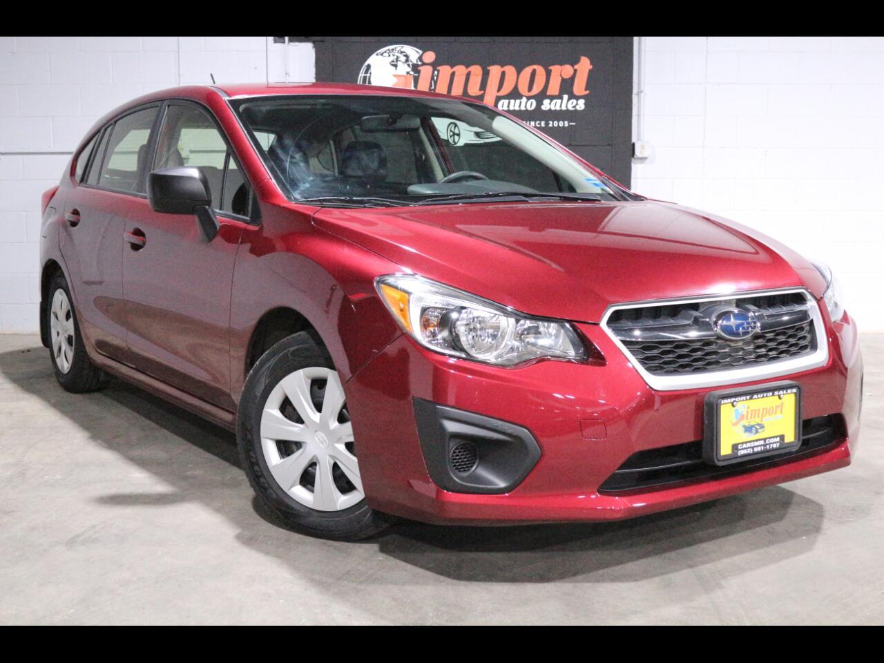 2013 Subaru Impreza Wagon 5dr Auto 2.0i