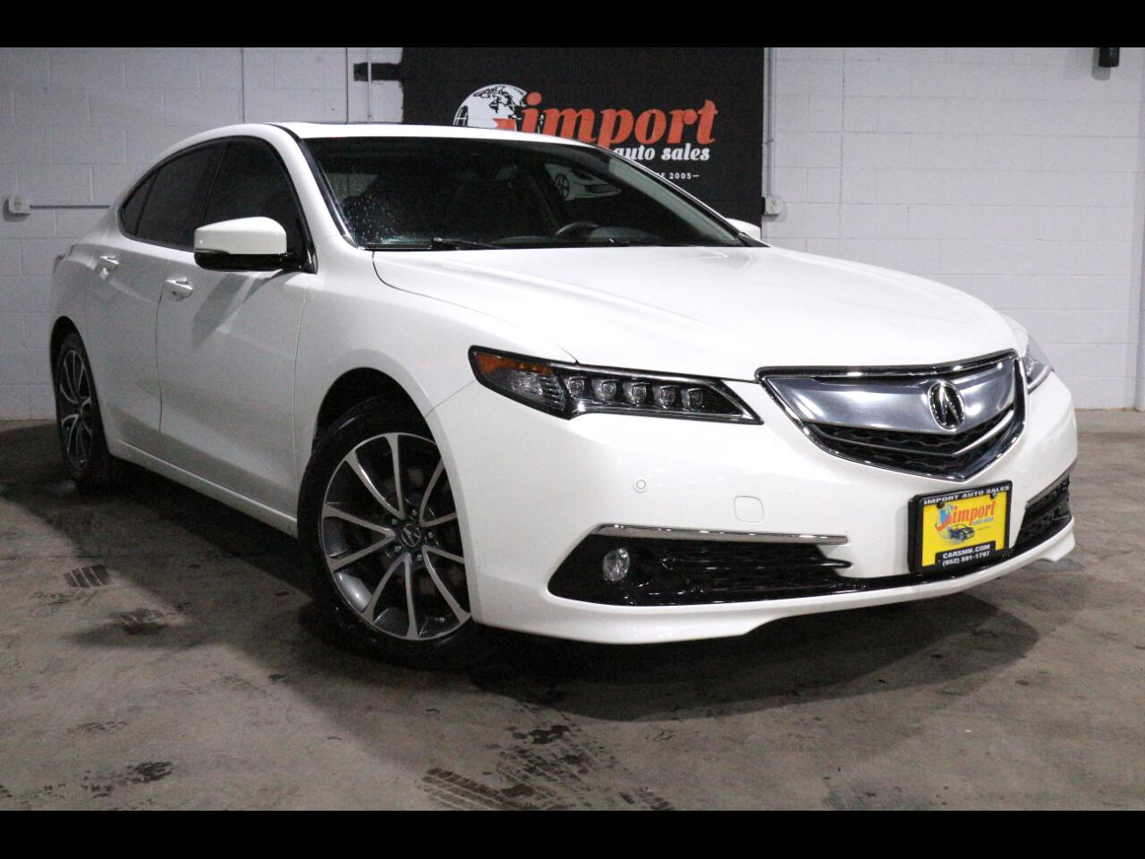 2017 Acura TLX SH-AWD V6 w/Advance Pkg