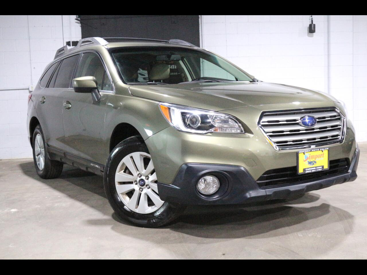 2015 Subaru Outback 4dr Wgn 2.5i Premium PZEV