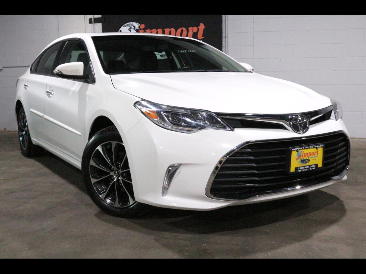 2016 Toyota Avalon 4dr Sdn XLE Premium (Natl)