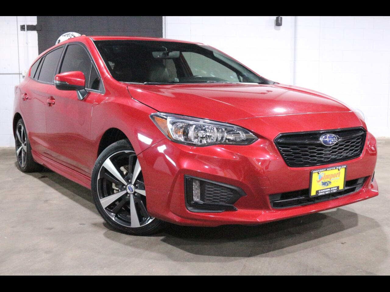2017 Subaru Impreza 2.0i Sport 5-door Manual