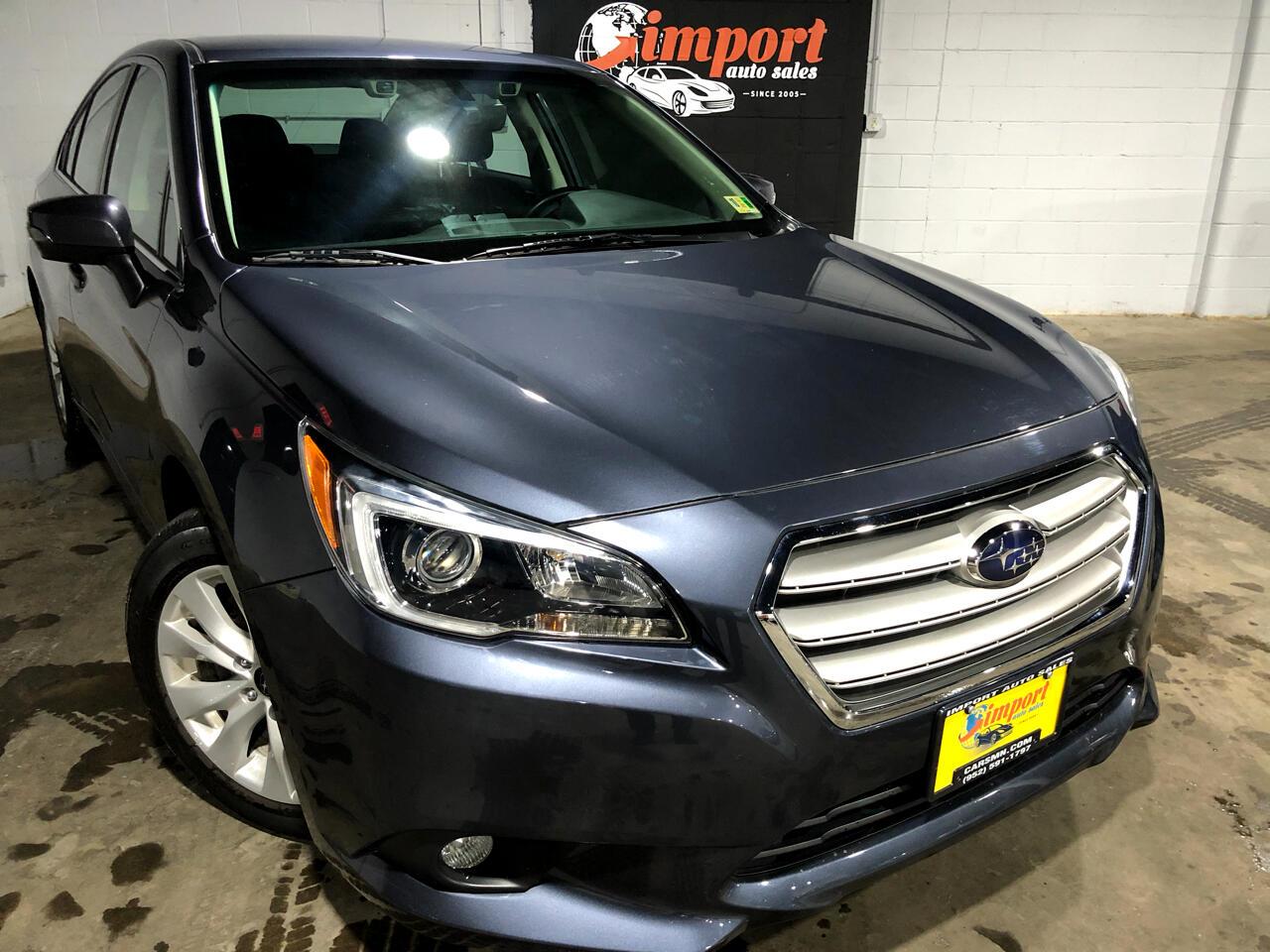 Subaru Legacy Sedan  2017