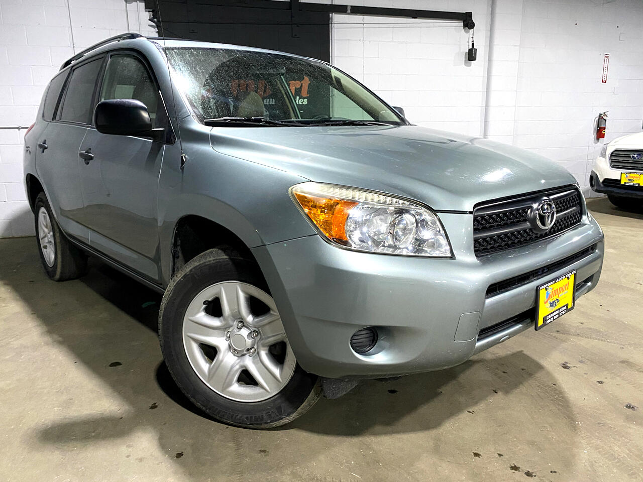 Toyota RAV4 4WD 4dr 4-cyl 4-Spd AT (Natl) 2008